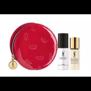 YSL beaute red coinsbag
